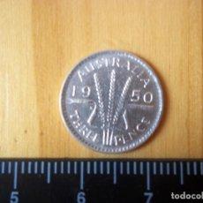 Monedas antiguas de Oceanía: 3 PENCE AUSTRALIA 1950 PLATA. Lote 97389839