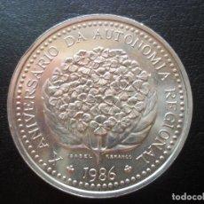 Monedas antiguas de Oceanía: 100 ESCUDOS 1986 ISLAS AZORES PLATA. Lote 97424675
