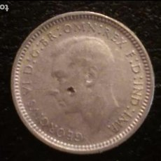 Monedas antiguas de Oceanía: MONEDA ORIGINAL, AUSTRALIA 3 PENCE 1947 PLATA BUEN ESTADO. Lote 97438559