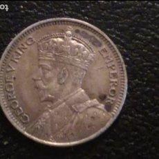 Monedas antiguas de Oceanía: MONEDA ORIGINAL, NUEVA ZELANDA 6 PENCE 1933 PLATA BUEN ESTADO. Lote 97439403