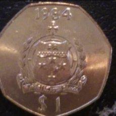 Monedas antiguas de Oceanía: MONEDA ORIGINAL, SAMOA 1 TALA 1984 EBC. Lote 97440095
