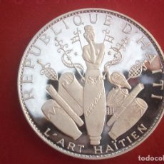 Monedas antiguas de Oceanía: 25 GOURDES 1970 PLATA HAITI. Lote 97523203