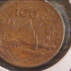 Monedas antiguas de Oceanía: MONEDA ORIGINAL, POLINESIA FRANCESA 100 FRANCOS 1995 MBC. Lote 97605443
