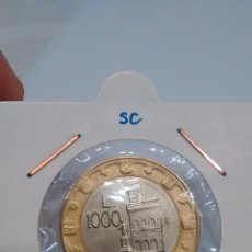 Monedas antiguas de Oceanía: 1000 LIRAS 1997. MONEDA DE SAN MARINO. SC. Lote 108749764
