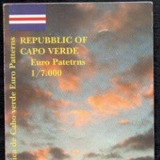 Monedas antiguas de Oceanía: CABO VERDE - EUROPRUEBAS 8 VALORES - RARA SERIE. Lote 199461105