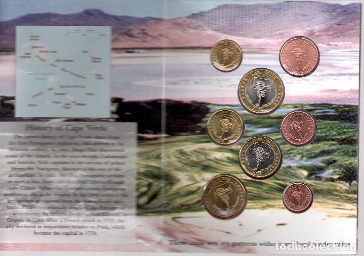 Monedas antiguas de Oceanía: CABO VERDE - EUROPRUEBAS 8 VALORES - RARA SERIE - Foto 2 - 199461105