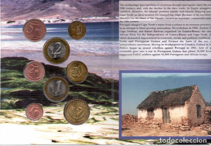 Monedas antiguas de Oceanía: CABO VERDE - EUROPRUEBAS 8 VALORES - RARA SERIE - Foto 3 - 199461105