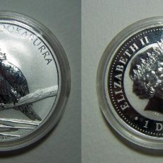 Monedas antiguas de Oceanía: MONEDA DE AUSTRALIA 1 DOLAR 2007 KOOKABURRA 1 ONZA PLATA PURA. Lote 107802715
