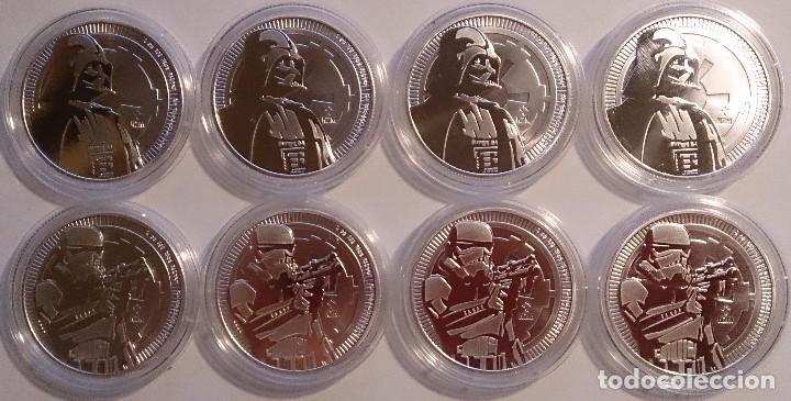 2 Onzas Serie Star Wars Niue Comprar Monedas Antiguas De
