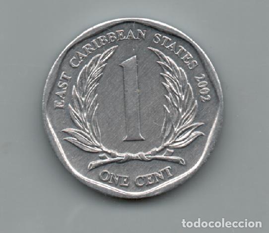 EASTCARIBE STATES - 1 CENT 2002 (Numismática - Extranjeras - Oceanía)