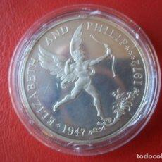 Monedas antiguas de Oceanía: 25 PENCE GUERNSEY 1972 PLATA 925 28GR 38,5MM PROOF TIRADA 15000. Lote 109049839