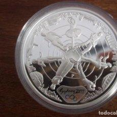 Monedas antiguas de Oceanía: 5 DOLLARS AUSTRALIA DEL AÑO 2000.OLIMPIADAS SIDNEY 2000.PROOF. PLATA 999 1OZ (31,10GR). Lote 109567107