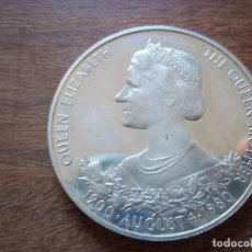 Monedas antiguas de Oceanía: 25 PENCE GUERNSEY 1980 PLATA 925 28GR, 38 MM. TIRADA 25 000 PROOF. Lote 109993339