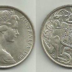 Monedas antiguas de Oceanía: AUSTRALIA 50 CENTS 1966 PLATA. Lote 114827527