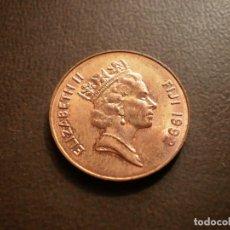 Monedas antiguas de Oceanía: FIJI 2 CENTS 1992. Lote 115396731