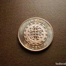 Monedas antiguas de Oceanía: ISLAS SALOMON 20 CENTS 2012. Lote 115397335
