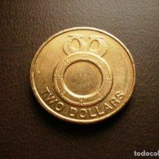 Monedas antiguas de Oceanía: ISLAS SALOMON 2 DOLARES 2012. Lote 115397707