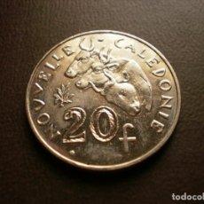Monedas antiguas de Oceanía: NUEVA CALEDONIA 20 FRANCOS 2009. Lote 115504107