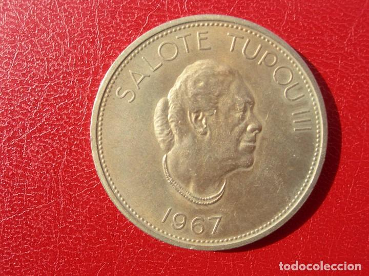 TONGA - GRAN MONEDA - 1967 - 1 PA,ANGA (Numismática - Extranjeras - Oceanía)