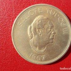 Monedas antiguas de Oceanía: TONGA - GRAN MONEDA - 1967 - 1 PA,ANGA. Lote 115621843