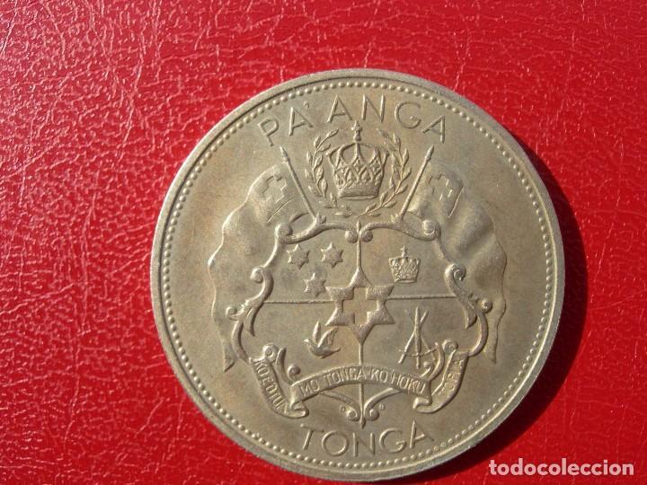 Monedas antiguas de Oceanía: TONGA - GRAN MONEDA - 1967 - 1 PA,ANGA - Foto 2 - 115621843