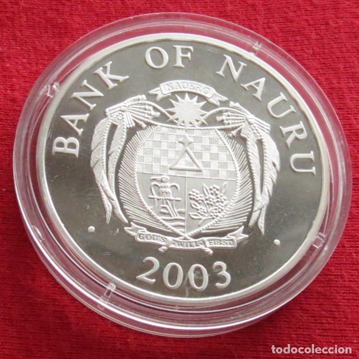 Monedas antiguas de Oceanía: Nauru 10 $ 2003 EURO monedas - Foto 2 - 116250635