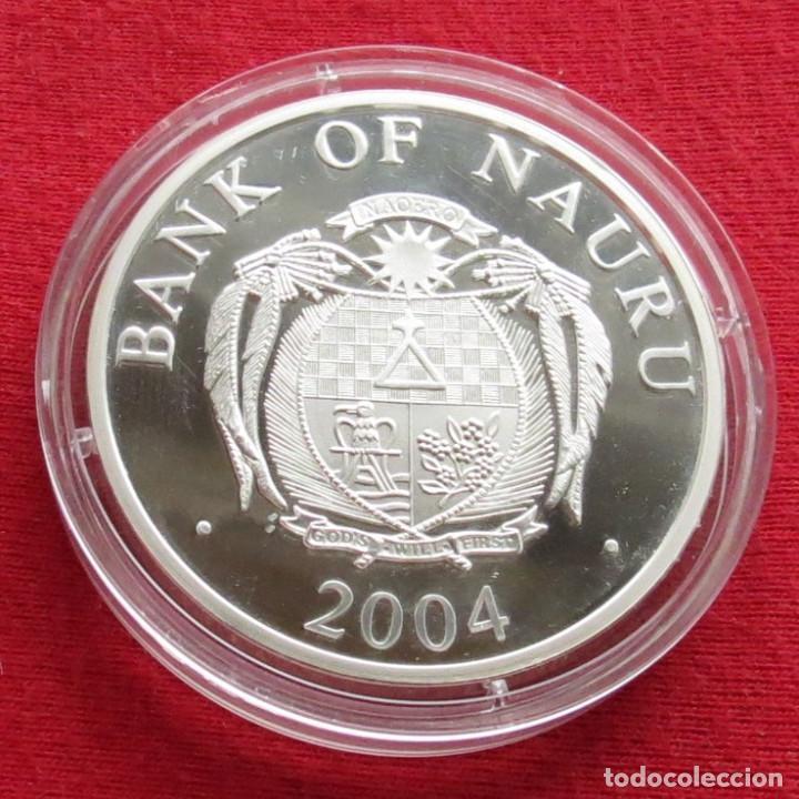 Monedas antiguas de Oceanía: Nauru 10 $ 2004 Dresden la iglesia - Foto 2 - 116250691