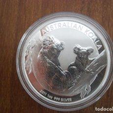 Monedas antiguas de Oceanía: 1 DOLLAR AUSTRALIA 2011 PLATA 999 1 0Z 31GR PROOF KOALA. Lote 116286955