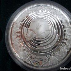 Monedas antiguas de Oceanía: 5 DOLLARS AUSTRALIA DEL AÑO 2000.OLIMPIADAS SIDNEY 2000.PROOF. PLATA 999 1OZ (31,10GR). Lote 116304923