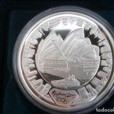 Monedas antiguas de Oceanía: 5 DOLLARS AUSTRALIA DEL AÑO 2000.OLIMPIADAS SIDNEY 2000.PROOF. PLATA 999 1OZ (31,10GR). Lote 116304999