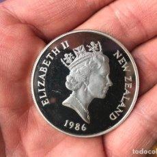 Monedas antiguas de Oceanía: DOLAR DE NUEVA ZELANDA DE 1986. Lote 116956223