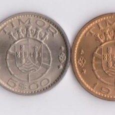 Monedas antiguas de Oceanía: MONEDAS EXTRANJERAS- TIMOR (PORTUGAL) 50 CTS.-1-5 Y 10 ESCUDOS 1970 - KM-18-19-21-22 (EBC+/SC). Lote 117075251