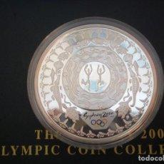 Monedas antiguas de Oceanía: 5 DOLLARS AUSTRALIA DEL AÑO 2000.OLIMPIADAS SIDNEY 2000.PROOF. PLATA 999 1OZ (31,10GR). Lote 118983191