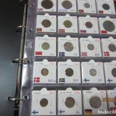 Monedas antiguas de Oceanía: 100 MONEDAS DEL MUNDO EN ALBUM . Lote 120940603