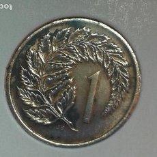 Monedas antiguas de Oceanía: NUEVA ZELANDA 1 CENTAVO 1967. Lote 122800895