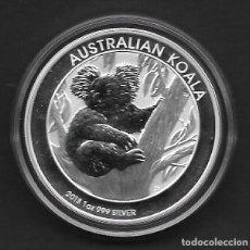 Monedas antiguas de Oceanía: AUSTRALIA - KOALA. 1 OZ 999 PLATA AÑO 2013 DE 1 DOLAR ISABEL II NUEVA. Lote 133774615
