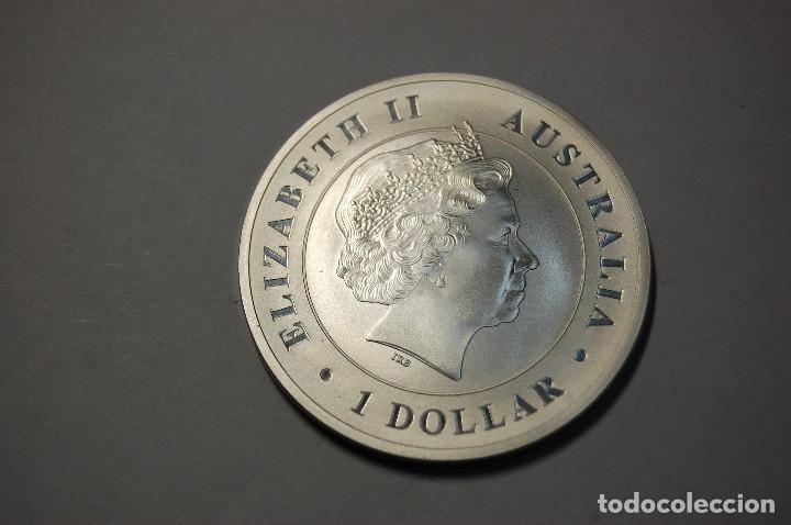 Monedas antiguas de Oceanía: 1 DOLAR DE PLATA DE AUSTRALIA DEL AÑO 2014.1 ONZA PLATA DE LEY 999.PROOF. - Foto 2 - 124882547