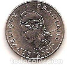 Monedas antiguas de Oceanía: POLINESIA FRANCESA,10 FRANCS 2001.. Lote 125846263