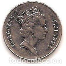 Monedas antiguas de Oceanía: ISLAS FIDJI,1 CENTS 1998.. Lote 125964191