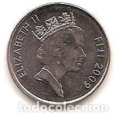 Monedas antiguas de Oceanía: ISLAS FIDJI,20 CENTS 2009.. Lote 125964295
