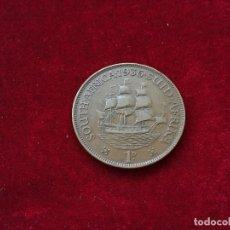 Monedas antiguas de Oceanía: PENNY 1936 SUDAFRICA. Lote 127987407