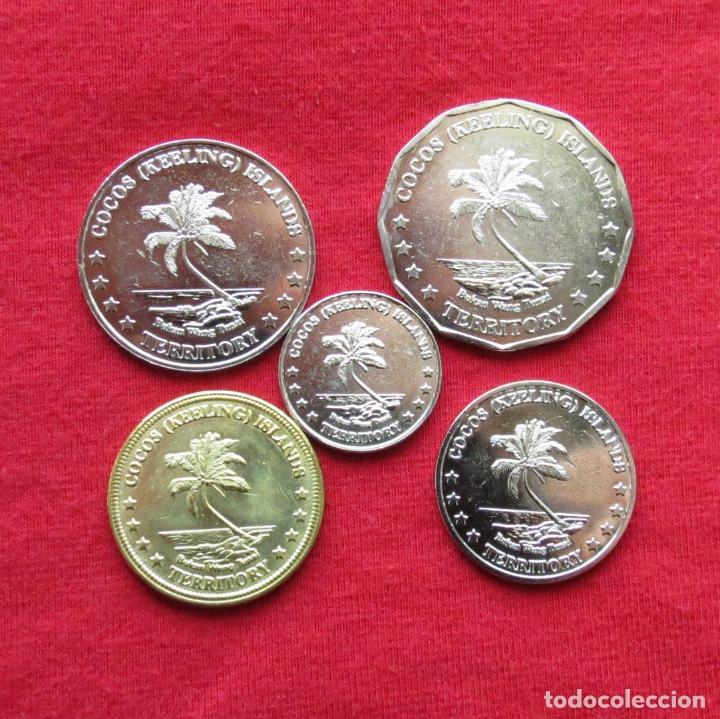 Alte Münzen aus Ozeanien: Cocos Keeling isl. serie 5 10 20 50 cents $ 1 - 2004 UNC - Foto 2 - 147367802