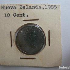 Monedas antiguas de Oceanía: NUEVA ZELANDA 1985 10 CENTIMOS. Lote 128424055