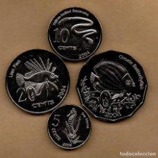 Monedas antiguas de Oceanía: COCOS - SERIE 4 MONEDAS. Lote 128623339
