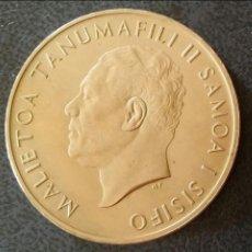 Monedas antiguas de Oceanía: UN DOLAR SAMOA Y SISIFO 1967. Lote 132381918