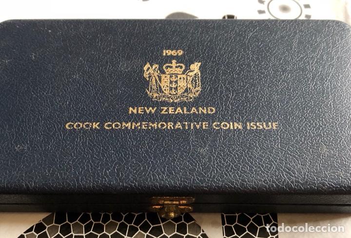 NUEVA ZELANDA SET CONMEMORATIVO 1969 (Numismática - Extranjeras - Oceanía)