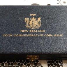 Monedas antiguas de Oceanía: NUEVA ZELANDA SET CONMEMORATIVO 1969. Lote 132790289