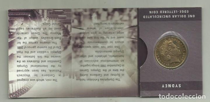 Blister 1 Dollar De Australia 2000 Juegos Olím Comprar Monedas