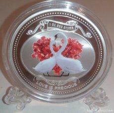 Monedas antiguas de Oceanía: 2010 - NIUE - LOVE IS PRECIOUS . Lote 133425830