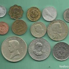Monedas antiguas de Oceanía: FILIPINAS: 12 MONEDAS DE 12 MONEDAS DIFERENTES. Lote 133716238